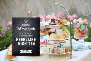 High tea Gasterij Hof van Leende